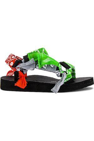Arizona Love Trekky Bandana Sandal in Green. - size 36 (also in 37, 38, 39, 40, 41)