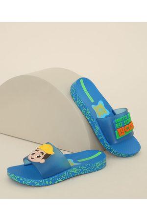 Ipanema Menino Chinelos - Chinelo Slide Infantil Luccas Neto