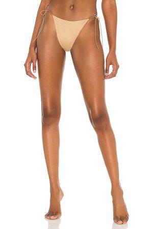 Tropic of C The C Bikini Bottom in Metallic . - size L (also in M, S, XS)