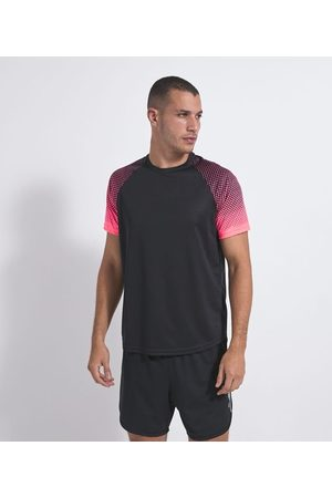 Get Over Camiseta Esportiva com Estampa nas Mangas | | | M