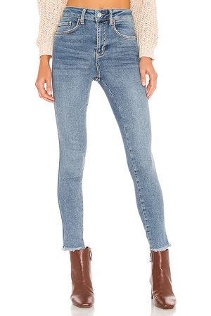Free People High Rise Jegging in Blue. - size 24 (also in 25, 26, 28, 29, 31)