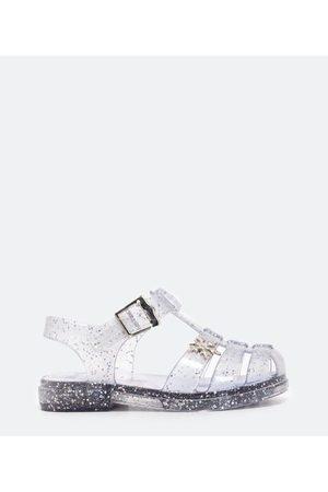 Frozen Sandália Infantil Transparente com Glitter Sola Led - Tam 19 ao 30 | | | 25/26