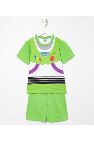 Toy Story Criança Pijamas - Pijama Infantil Curto Buzz Lightyear - Tam 3 a 8 anos | | | 04