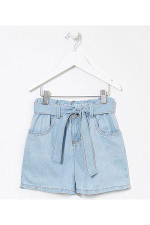 Fuzarka Criança Short - Short Infantil Jeans Clochard - Tam 5 a 14 anos       7-8