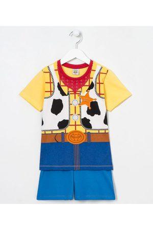 Toy Story Criança Pijamas - Pijama Infantil Curto Woody - Tam 3 a 8 anos | | Multicores | 03