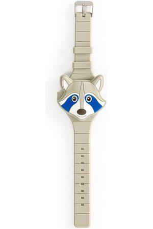 Cubus Relógio Infantil REN131 Digital com Tampa Guaxinim | | | U