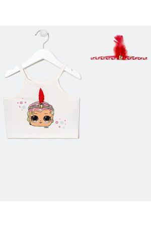 Lol Surprise Criança Blusa - Blusa Infantil Cropped Alças LOL - Tam 4 a 14 anos | | | 11-12