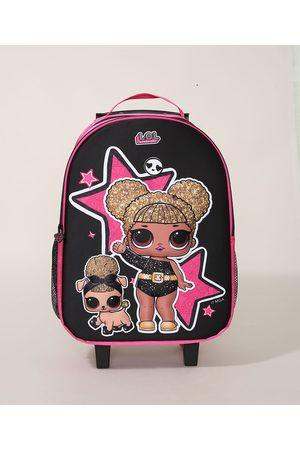 LOL Surprise Mochila Infantil com Rodas Pink