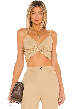 House of Harlow X REVOLVE Sahara Top in Tan. - size L (also in M, S, XL, XS)