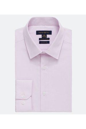 Preston Field Homem Camisa Manga Comprida - Camisa Slim Manga Longa Listrada | | | 06
