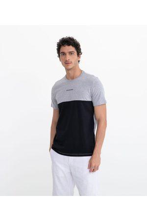 Request Homem Manga Curta - Camiseta com Recorte e Estampa Unknow | | | P