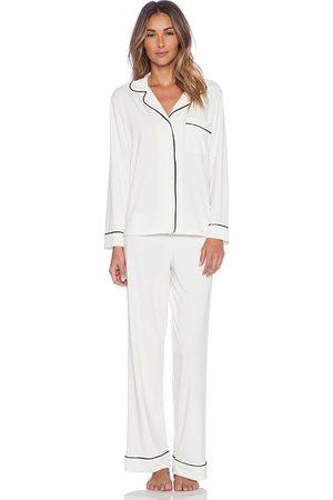 Eberjey Gisele PJ Set in White. - size L (also in M, S, XS)
