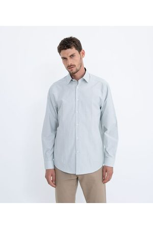 Preston Field Camisa Social Xadrez Grid Manga Longa | | | 02