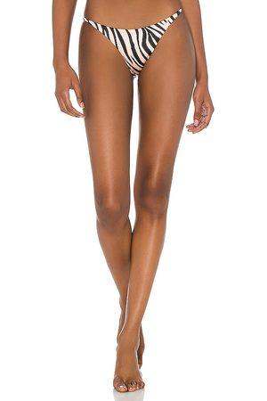 Bond Eye Buffed Brief Bikini Bottom in Brown. - size L (also in M, S, XS)