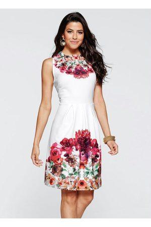 QUEIMA ESTOQUE Mulher Vestido Estampado - Vestido Evasê Estampado Floral