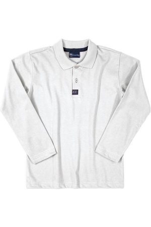 Quimby Menino Camisa Manga Comprida - Camisa Polo Manga Longa