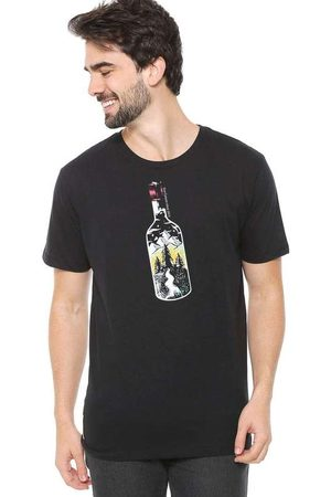 Eco Canyon Camiseta de Algodão Masculina Garrafa P