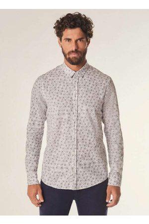 Reserva Homem Camisa Casual - Camisa Ml Hibisco Minifull