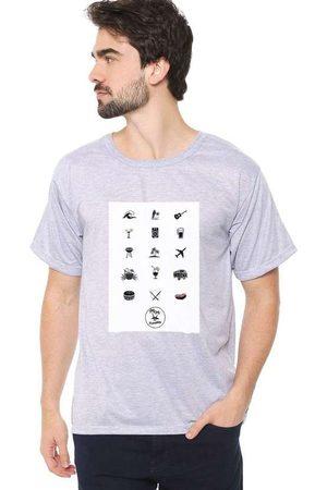 Eco Canyon Homem Manga Curta - Camiseta Masculina The Summer Cin