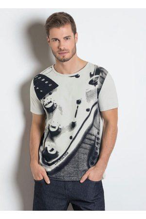 MODA POP Camiseta com Estampa Frontal