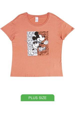 Disney Blusa em Viscose com Estampa