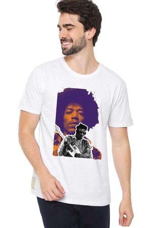 Eco Canyon Homem Manga Curta - Camiseta Masculina Rock White