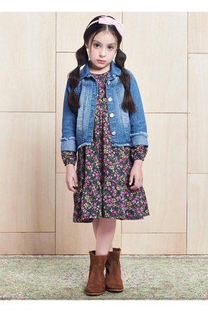 Momi Menina Vestido Estampado - Vestido com Estampa Floral