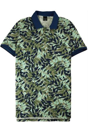 Malwee Homem Camisa Formal - Camisa Polo Tropical em Piquê