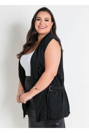 Marguerite Colete com Forro Surpresa Plus Size