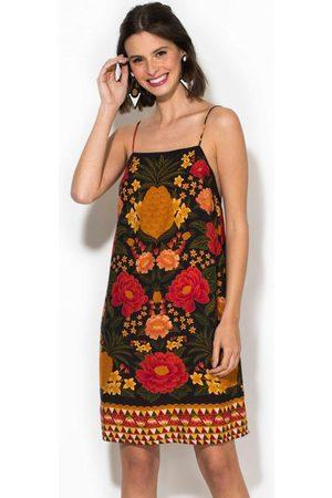 Gentleman Farmer Mulher Vestidos - Vestido Curto Paraíso dos Abacaxis