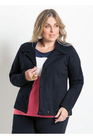 Marguerite Mulher Blazer - Blazer Feminino Plus Size
