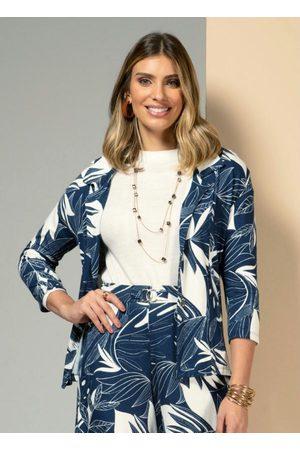 QUINTESS Mulher Blazer - Blazer com Botões Floral