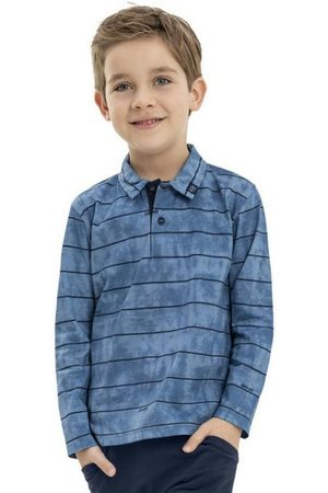 Quimby Camisa Infantil Polo Manga Longa