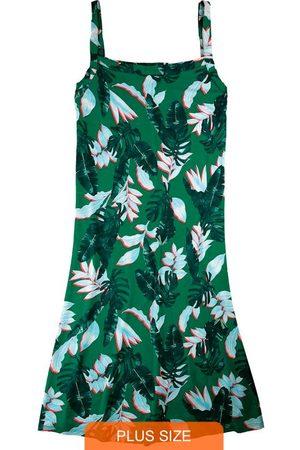 Wee Malwee Mulher Vestidos - Vestido Curto Tropical em Viscose