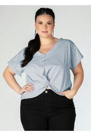 Mink Blusa Plus Size