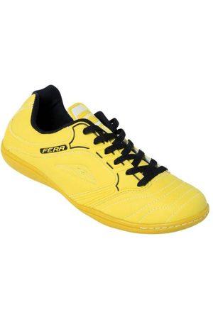 QUEIMA ESTOQUE Homem Sapatos Esporte - Chuteira Futsal Amarela com Sola Pvc