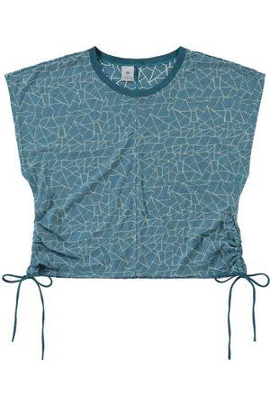 MALWEE LIBERTA Camiseta - Blusa Devore com Amarração