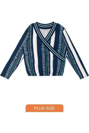 Secret Glam Blusa Transpassada