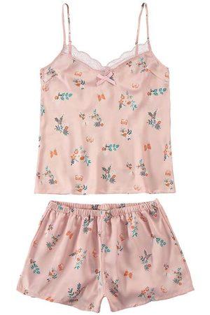 MALWEE LIBERTA Pijama Floral em Cetim