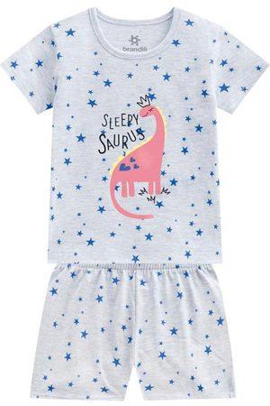 Brandili Menina Pijamas - Pijama Curto Menina Mescla