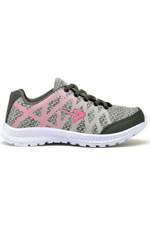 Polo State Mulher Sapatos Esporte - Tênis Feminino Polo Sport Active 02 Gelo/Pink Pink