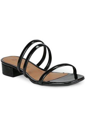 Offline Mulher Sapato Mule - Tamanco Salto Baixo