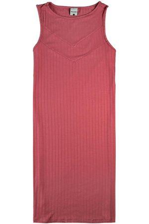 Malwee Mulher Vestidos - Vestido Goiaba Curto Canelado