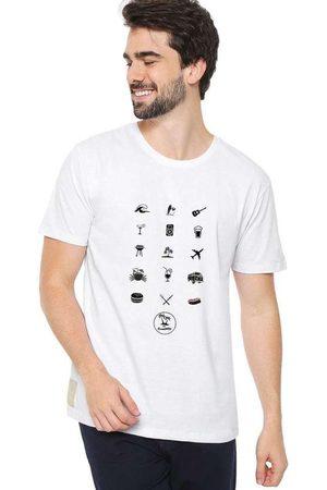 Eco Canyon Camiseta Masculina The Summer Wh