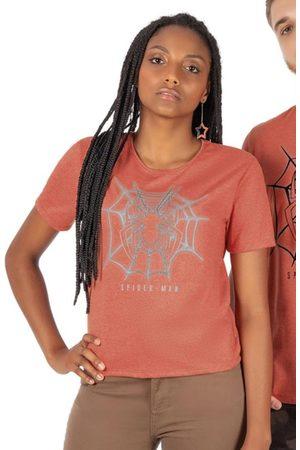 Marvel Mulher Camiseta - Blusa Feminina Estampada