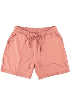 Malwee Mulher Shorts Esportivos - Shorts em Moletinho de Viscose