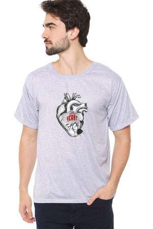Eco Canyon Homem Manga Curta - Camiseta Masculina Little Heart C