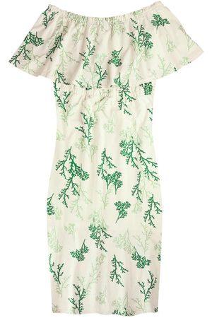 Malwee Vestido Ciganinha Mídi Sustentável