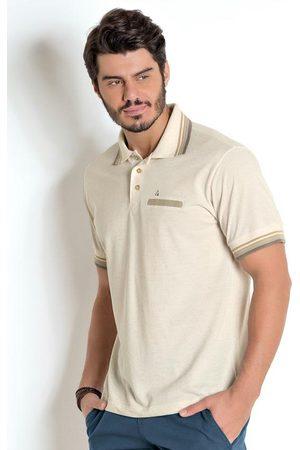Actual Homem Camisa Formal - Camisa Polo com Linho