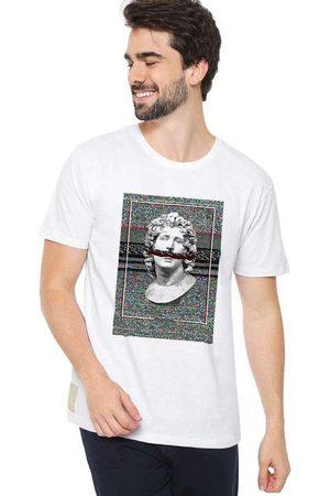 Eco Canyon Camiseta Masculina Busto White